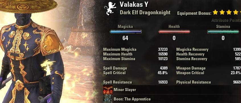 magicka dragonknight build pve summerset