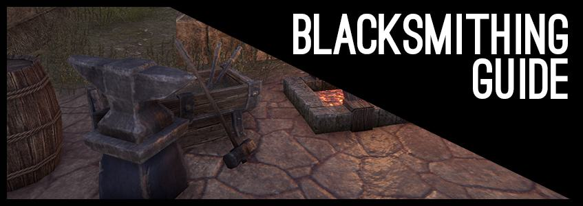 ESO Blacksmithing Guide: Sets, Weapons, Armor and Fast ...