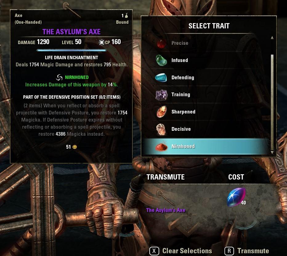 Transmutation System Guide for Elder Scrolls Online - AlcastHQ