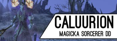 Magicka Sorcerer Build PvE Lich King Caluurion