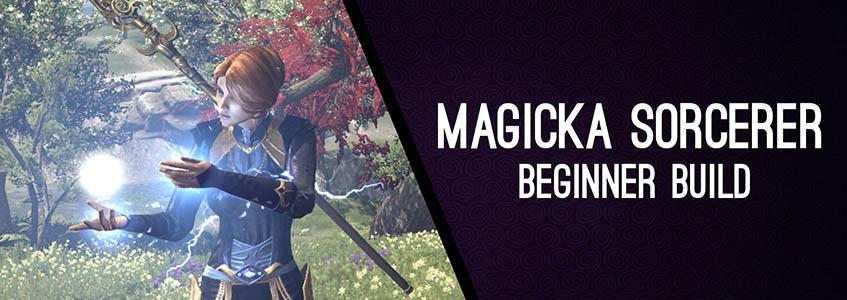 Magicka Sorcerer Beginner Build 160 ChampPoints for PvE