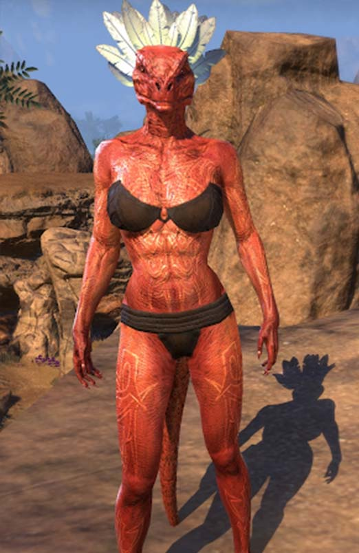 Deadlands Brand Argonian Skin