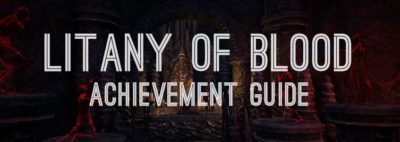 Litany of Blood Achievement