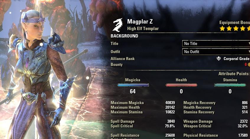 Magicka Templar Build PvE DPS for Elder Scrolls Online - AlcastHQ