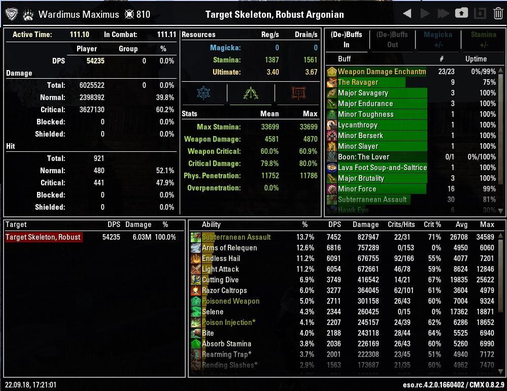 Ravager Vs Advancing Yokeda Archived
