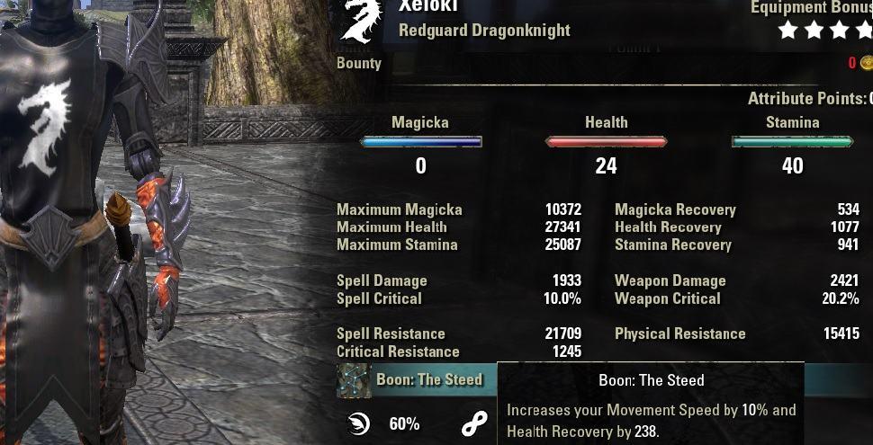 Stamina Dragonknight PVP Build Gladiator Archived - AlcastHQ