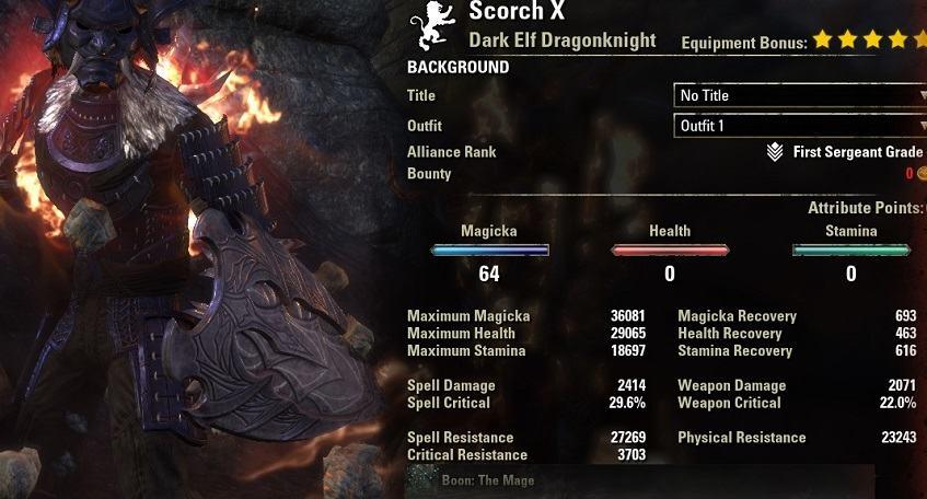 Magicka Dragonknight PvP Build