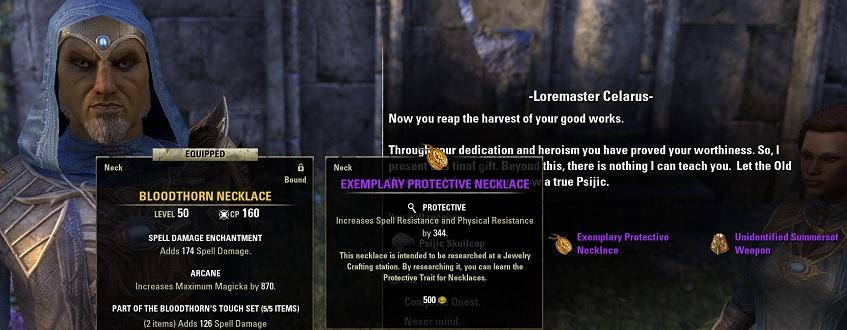 Psijic Order Leveling Guide