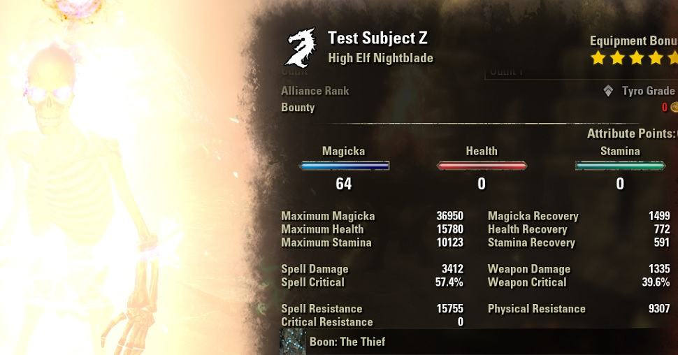 Magblade Build PvE