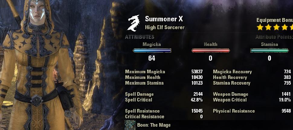 Elder scrolls online sorcerer guide