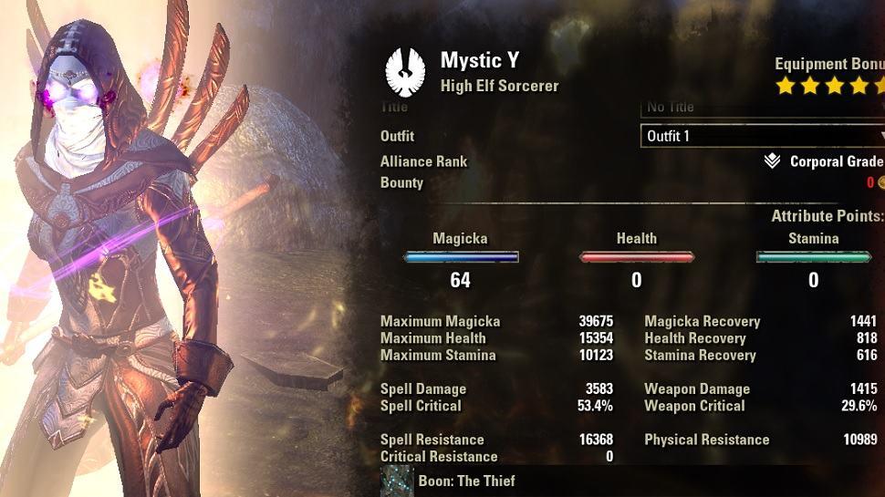 Magsorc Mystic Build