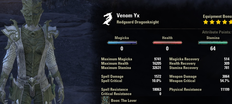 Stamina Dragonknight Build PvE for Elder Scrolls Online ...