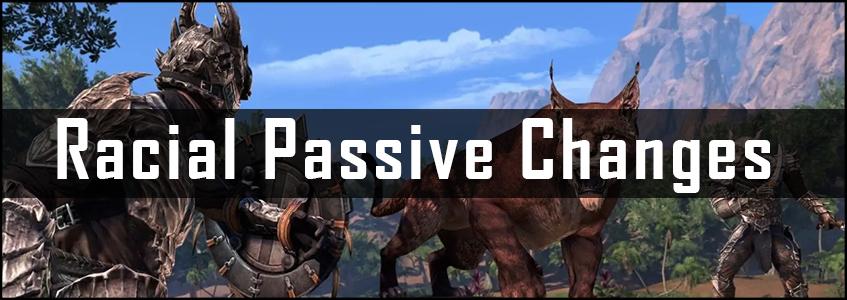 Racial Passive Changes Q1