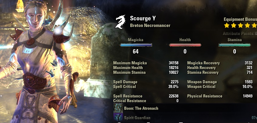 Necromancer Healer Build PvE for Elder Scrolls Online - AlcastHQ