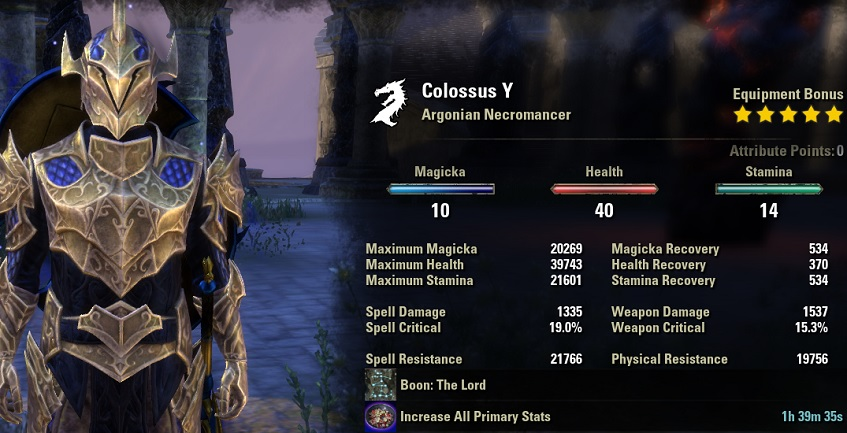 Necromancer Tank Build PvE for Elder Scrolls Online - AlcastHQ