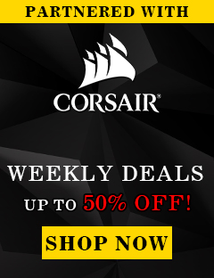 CORSAIR WEEKLY DEALS: Up to 50% OFF Gaming Peripherals and Enthusiast Components