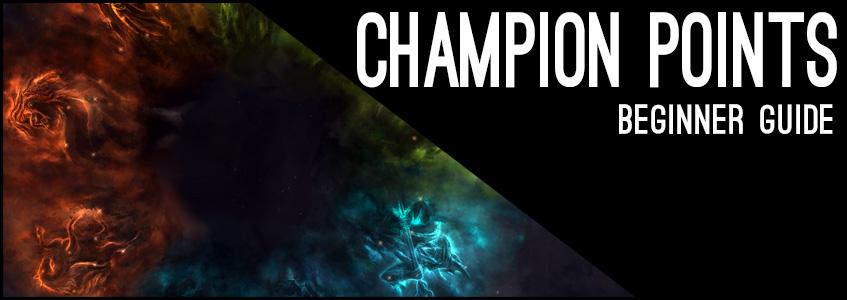Champion Points Beginner Guide Header