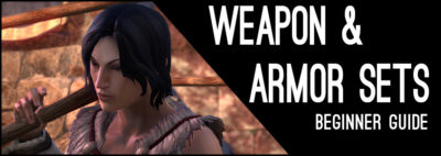Weapon and Armor Beginner Guide Header