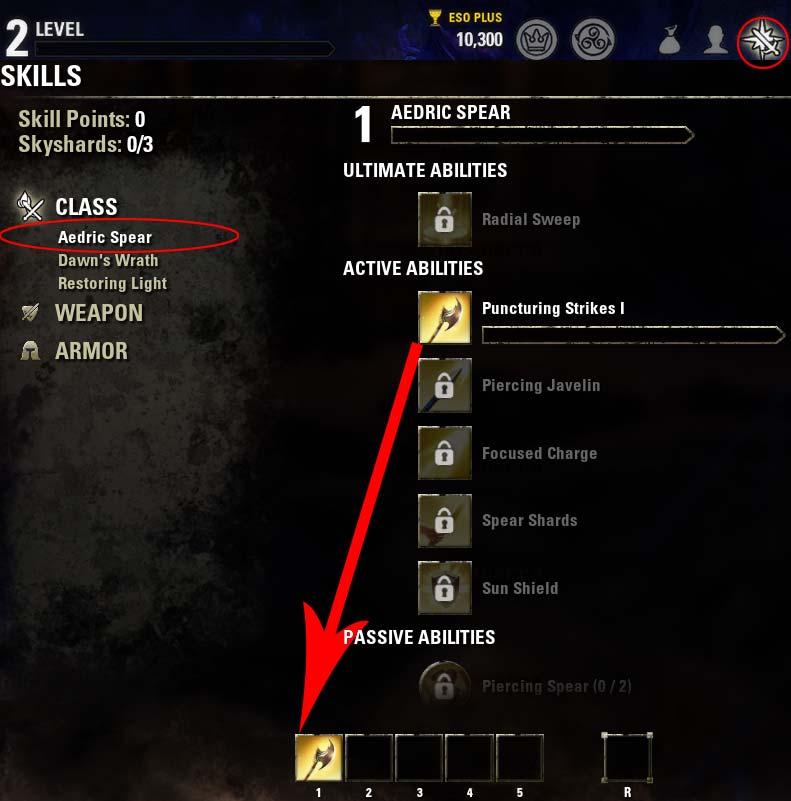 Magicka Nightblade Skills Level 2