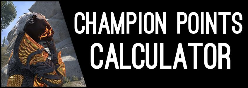 Champion Points Calculator