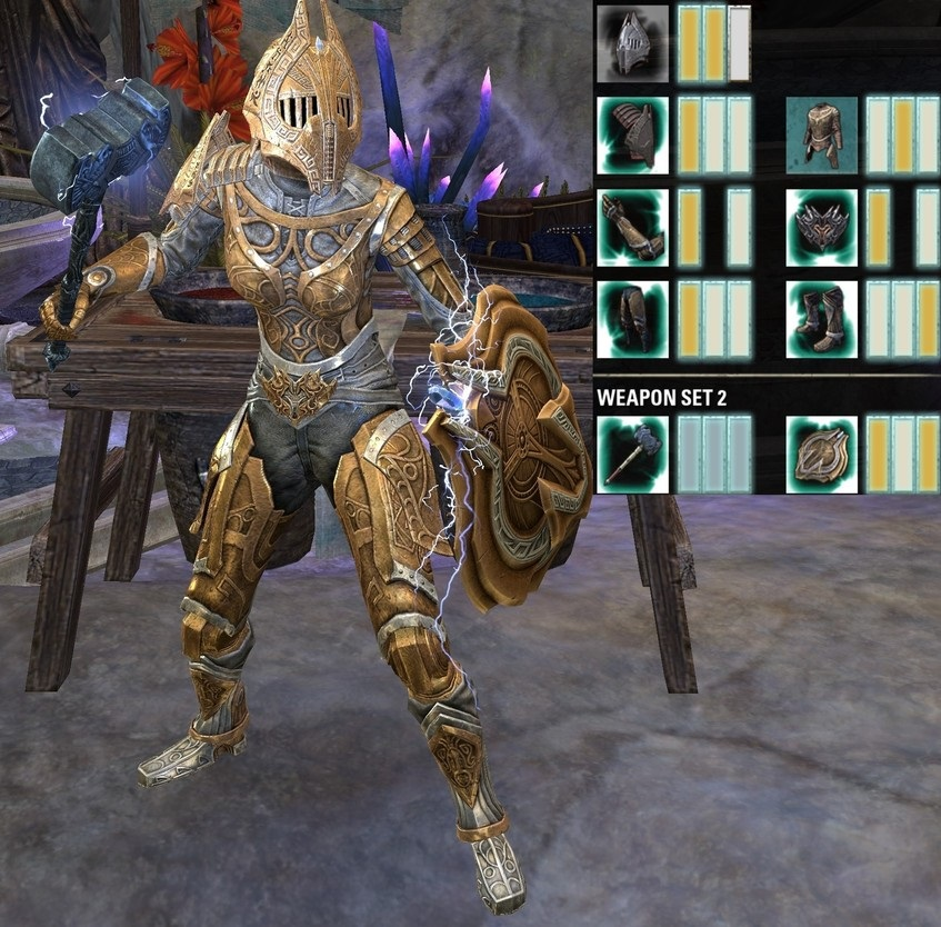 Knight of Numidium Fashion Outfit