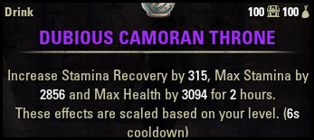 Beginner Guide Dubious Camoran Throne