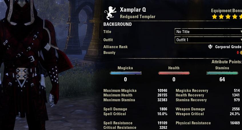 Stamina Templar Build PvP for Elder Scrolls Online - AlcastHQ