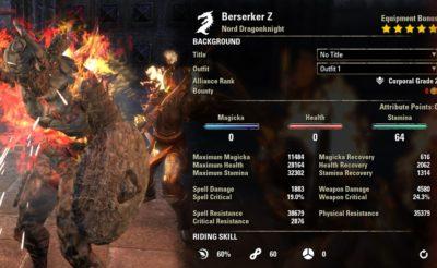 Berserker Stamina Dragonknight PVP buffed1