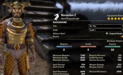 Berserker Stamina Dragonknight PVP unbuffed1