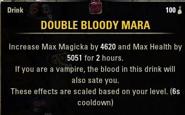 Bloody Mara Drink new Food