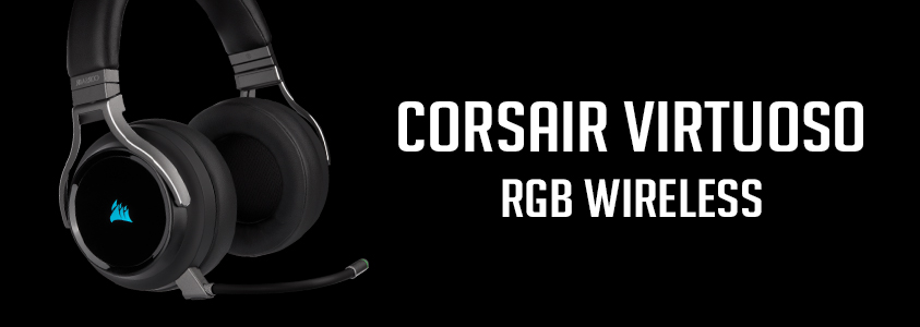 Corsair Virtuoso RGB Wireless Banner