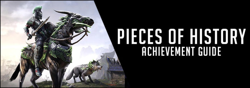 Pieces of History Achievement Guide
