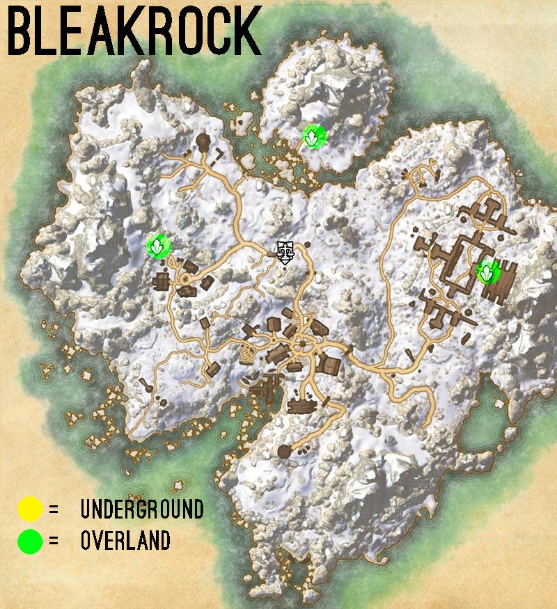 bleakrock isle skyshards