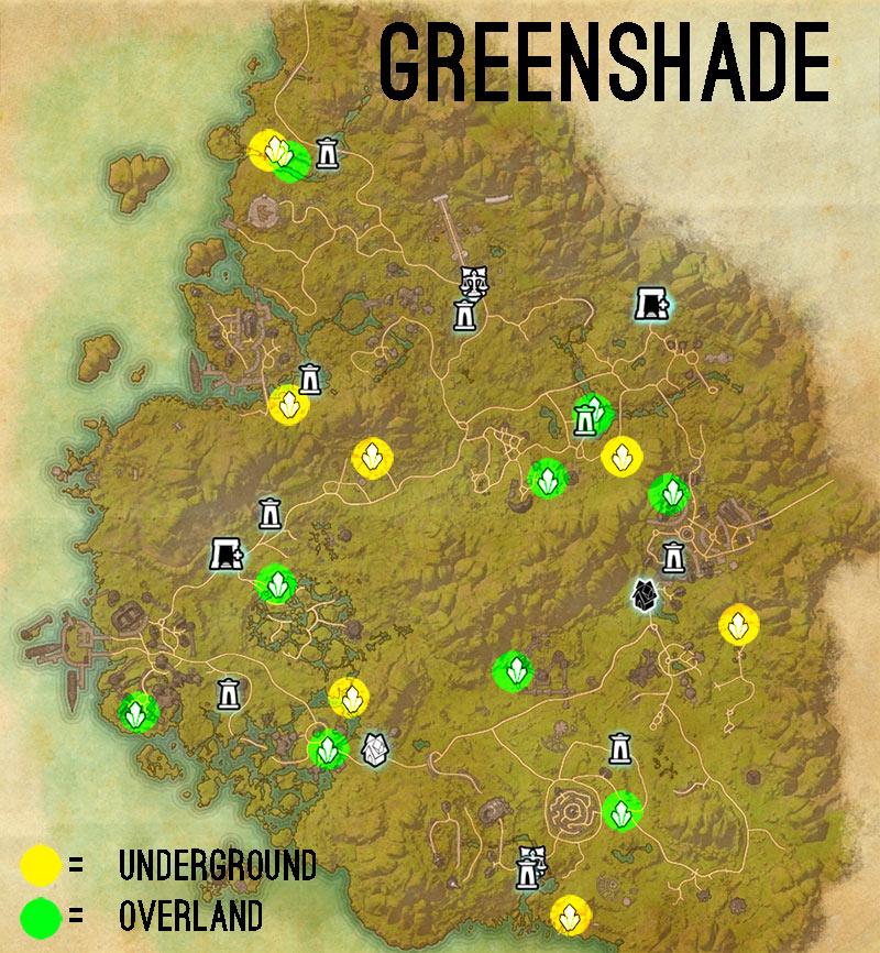 greenshade skyshards