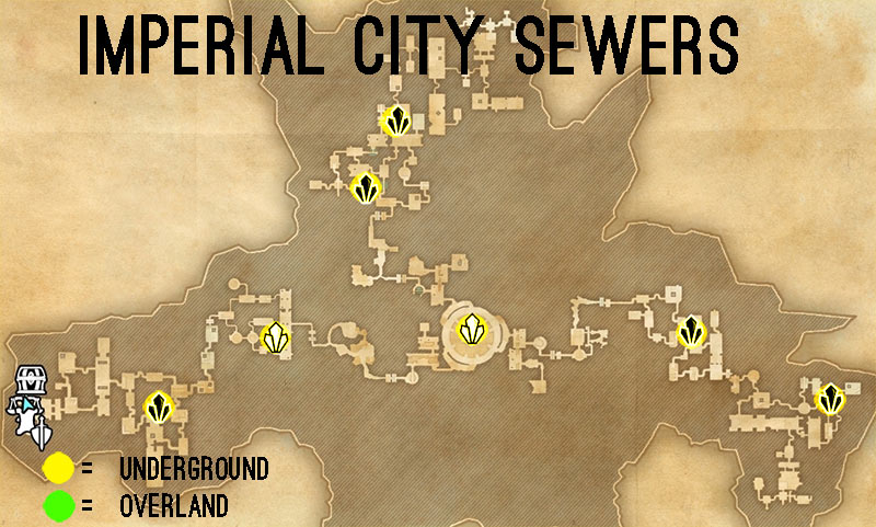 Imperial City Sewers Skyshards