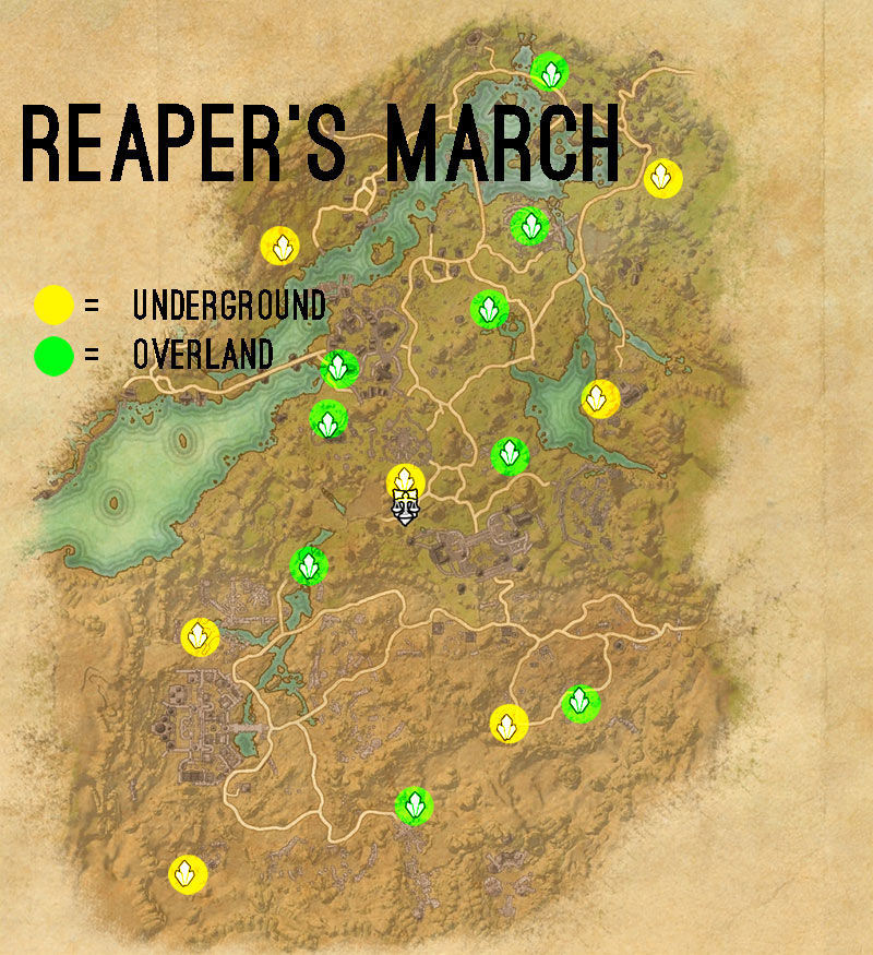 reapers march skyshards