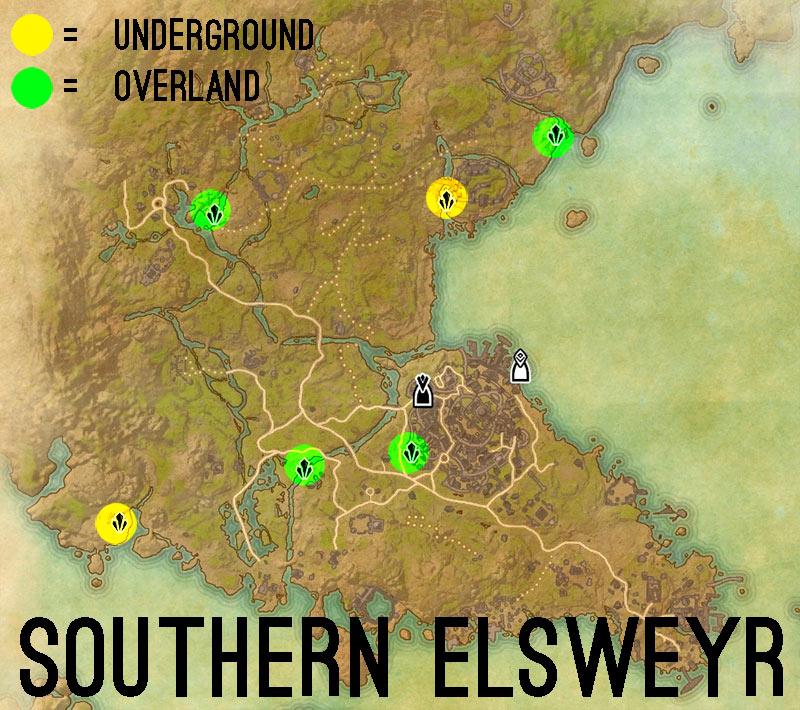 southern elsweyr skyshards