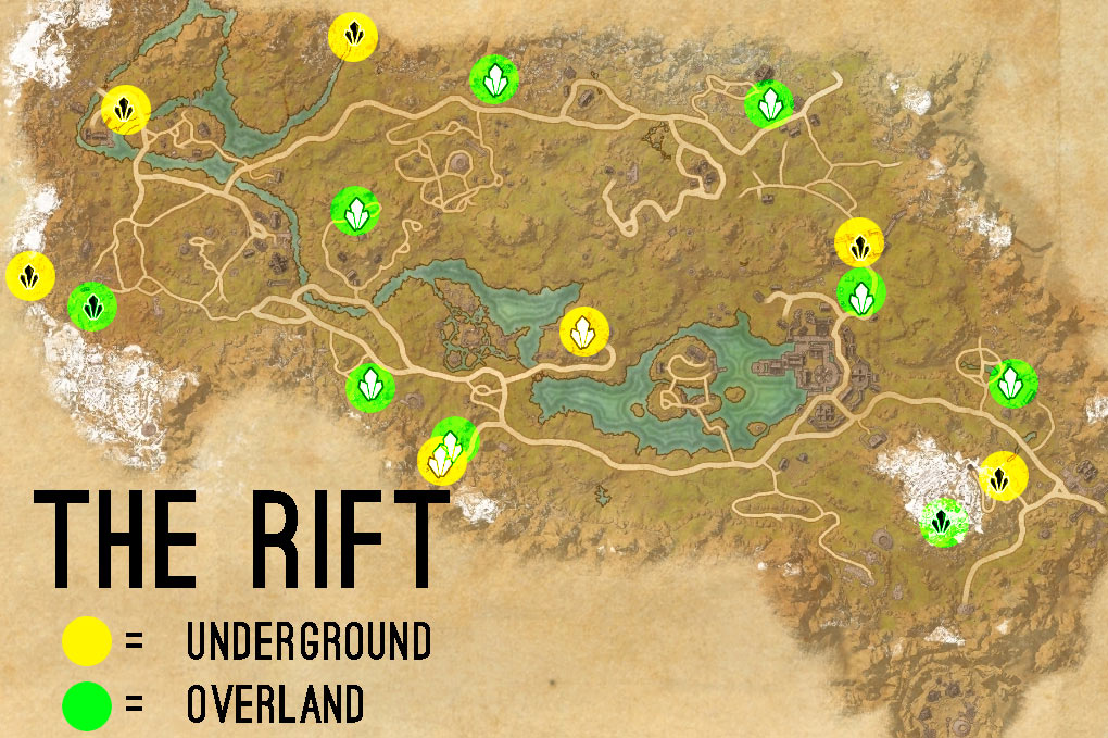 the rift skyshards