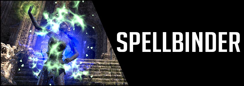 Spellbinder Banner Picture Magicka Sorcerer Cyrodiil GroupESO