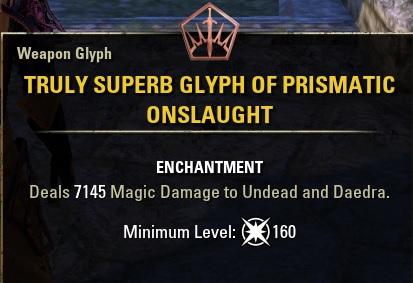 Prismatic Glyph ESO