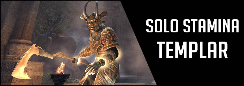 Solo Stamina Templar PvE Build Banner picture