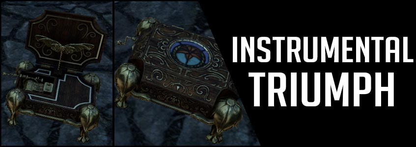 Instrumental Triumph achievement guide ESO