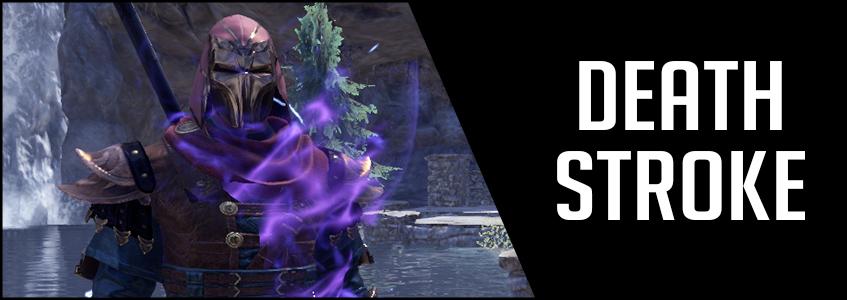2H Stamina Sorcerer Build PVE DPS Deathstroke Banner Image